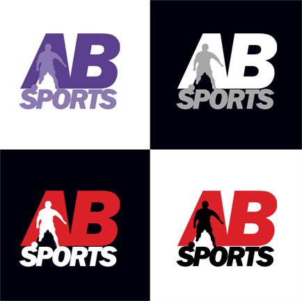 Logo Design Ab Sports Logo Middlesbrough Hopson Creative